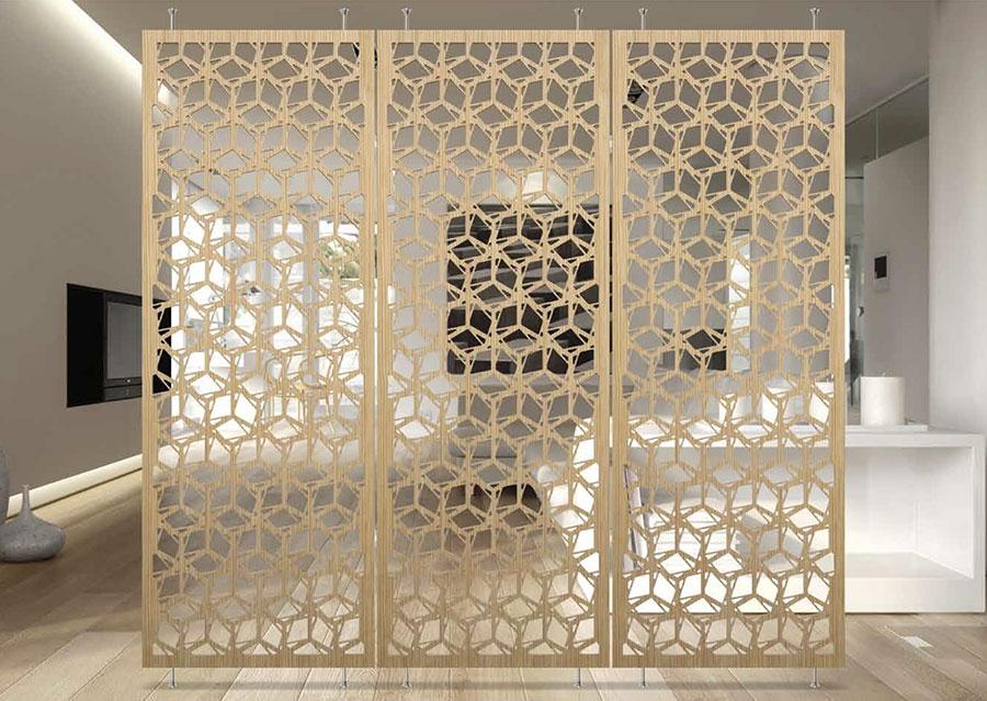 Eleganti separ per ambienti interni e da esterno firmati mas for Designer di interni